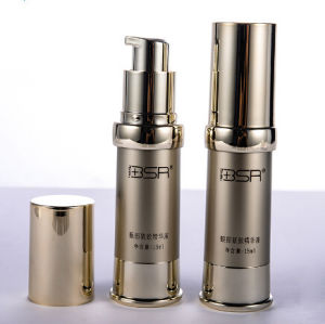 15ml Empty Gold Acrylic Cosmetic Liquid Airless Eye Serum Bottle (PPC-AAB-024) pictures & photos