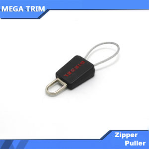 Customized Color Stamp Logo PVC Zipper Puller pictures & photos