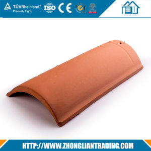 Semi-Cylindrical Roof Tiles Red Terracotta Tiles pictures & photos