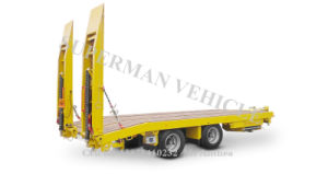 Utility Lowbed / Lowdeck/ Low Body Cargo Trailer pictures & photos