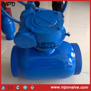 Fully Welded Trunnion Ball Valve (Q367F) pictures & photos