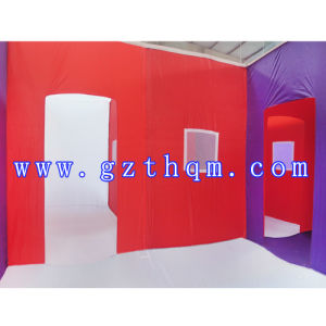 Children′s Play Game Inflatable Maze/Outdoor Gaint Inflatable Obstacle Course pictures & photos