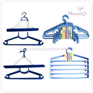 29.5cm Wholesale Laundry Hanger Clothes Plastic Hanger pictures & photos