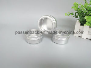 150g Aluminum Container for Cosmetic Soap Packaging (window screw lid) pictures & photos