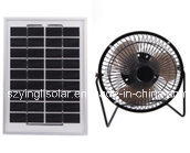 Solar AC& DC Fan with Solar Panel Use for Desk pictures & photos