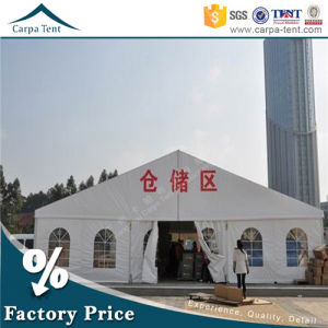 China Tent Wholesale 20m Flat-Topped Warehouse Canopy with Heavy Duty Materials pictures & photos