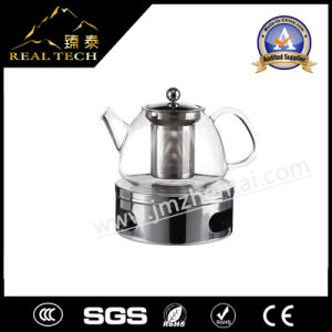 Glass Teapot with Filter and Warmer