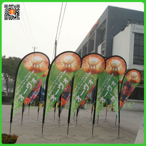 Customized Flag Pole Teardrop Sail Banner Flags (TJ-12) pictures & photos
