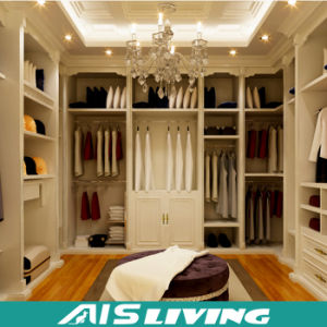 MDF Moisture Proof Board And Plywood Walk In Closet Wardrobe (AIS W181)