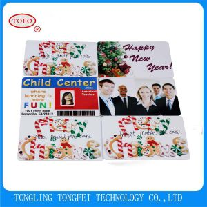 Double Sides 4color Printing Cr80 Inkjet Plastic PVC Card pictures & photos