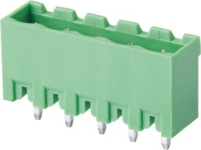 UL cUL VDE Approved Plug-in Terminal Block (WJ2EDGVC-5.0/5.08/7.5/7.62mm) pictures & photos
