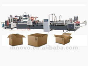 Automatic Carton Box Folder Gluer pictures & photos