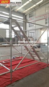 Construction Pin Lock Ringlock Scaffolding with Acess Stair pictures & photos