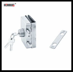 Stainless Steel Glass Door Lock with Wall HR-1143/HR-1143B: pictures & photos