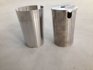 Precise CNC Machinery Stainless Steel Waste Bin Industry Work