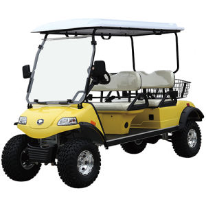 Solar Panel Utility Vehicle with Basket (DEL2042D, 4-Seater) pictures & photos