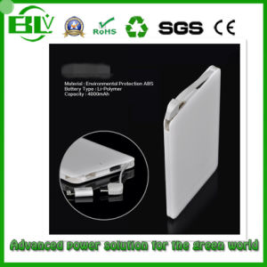 Slim Name Card Power Bank Backup Charger 2000mAh ~ 2500mAh External Battery with CE RoHS pictures & photos