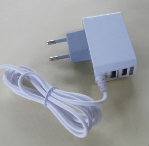 Two USB Travel Charger with Ce GS Certificate