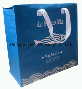 Custom Logo Print PP Woven or Non Wovenlamination Cooler Bag pictures & photos