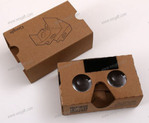 Customized Pirnting Vr Google Cardboard V2 with Lens pictures & photos