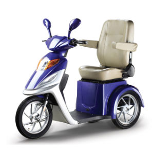 3wheels 500W Brushless Motor Electric Tricycle pictures & photos