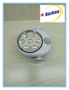 Sensor Powerful High Quality 7LED Wall Light pictures & photos