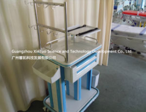 Hospital Furniture Supply Waiting Chair Meical Trolley Medical Cabinet pictures & photos