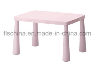 Plastic Kids Table with Eco-Friendly Plastic Material pictures & photos