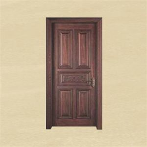 Newest Choco Brown European Style Wood Interior Door