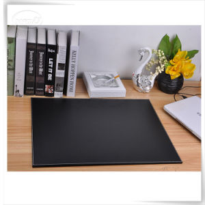 Durable PU Leather OEM Leather Writing Pad Holder Mouse Placemat