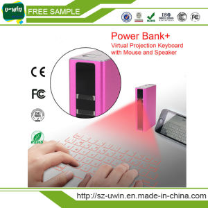 Wireless Bluetooth Connection Virtual Laser Projection Keyboard with Power Bank