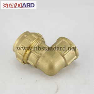 Brass PE Elbow with Female Thread