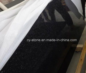 Black Galaxy Granite Tile for Countertop/Vanitytop/Benchtop/Flooring Tiles