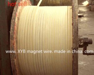 Double Glass Fiber Aluminum Flat Wire