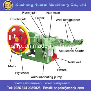 China High Speed Lowest Price Automatic Wire Nail Production Machine Nail Making Machine pictures & photos