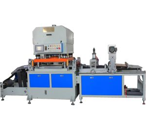 40t Precise 4 Column Hydraulic Pressure Gasket Cutting Machine pictures & photos