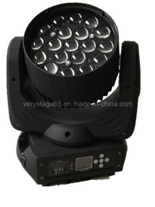19*10W RGBW Osram LED Zoom Beam Wash Moving Head Light pictures & photos