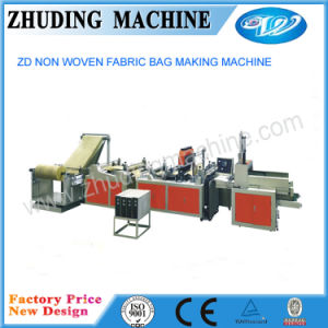 Non Woven Rope Through Bag Making Machine pictures & photos