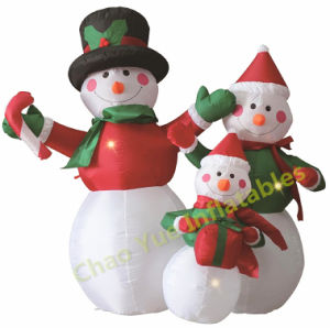 Hot Sale Inflatable Snowman for Christmas Decoration pictures & photos