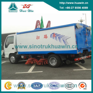 130HP 4*2 Road Sweeper Truck pictures & photos
