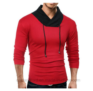 9230b18df1d9 Mens Long Sleeve Shirts Hoodie Tops Casual Slim Fit V Neck Pullover T Shirt  Hipster