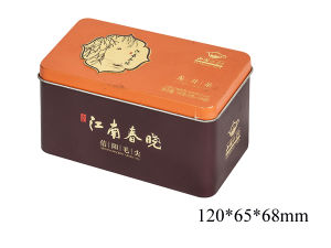 Concise Printing Tea Tin Box