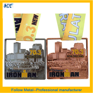 Zinc Alloy Medal with Different Plating