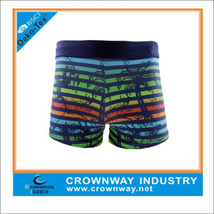Colorful Allover Printing Mens Thong Swimwear Short pictures & photos