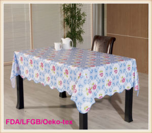 Waterproof Plastic Colorful PVC Table Cloths pictures & photos