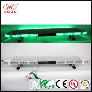 Ultrathin and Wide LED Emergency Aluminium Warning Light Bar with Speaker Series Amber Blue Red pictures & photos