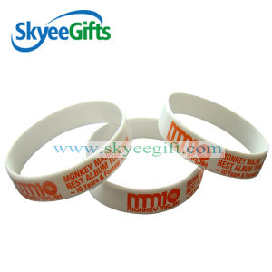 Sport Luminous Silicone Glow in Dark Bracelet pictures & photos