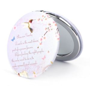 Small Cute Makeup Pocket Compact Cosmetic Mirror pictures & photos
