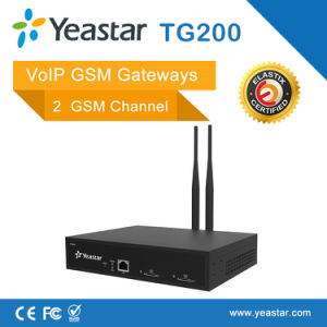 Yeastar Neogate Tg200 with 2 GSM SIM Channles VoIP GSM Gateway pictures & photos