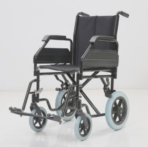 Steel Manual, Transit, Wheelchairs, Folding for Home Care, (YJ-035B) pictures & photos